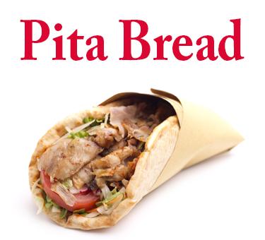 Pita Bread-menu