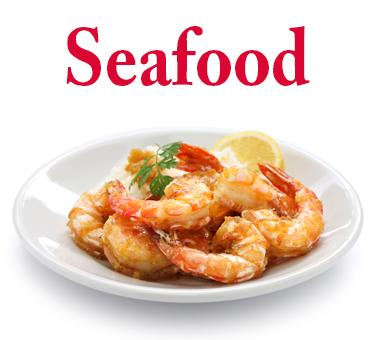 Seafood-menu